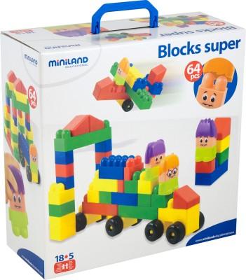 Miniland Educational Blocks Super