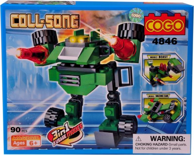 Mera Toy Shop Robot Construction Set -4846