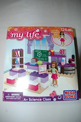 Mega Bloks My Life As A+ Science Class Mega