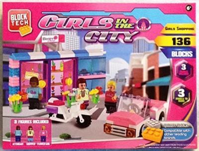 Block Tech Girls In The Citygirls Shopping 136