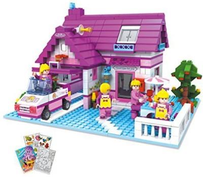 BRICTEK Imagine House Buildingset 622Pcs (Compatible With Legos)