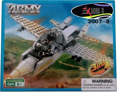 Adraxx DIY Hobby 3D Fighter Plane Model Assembling Kit