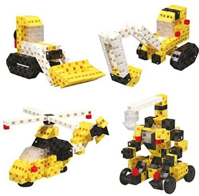 Click-A-Brick Mighty Machines 100Pc Educationalbuilding Set Best Gift