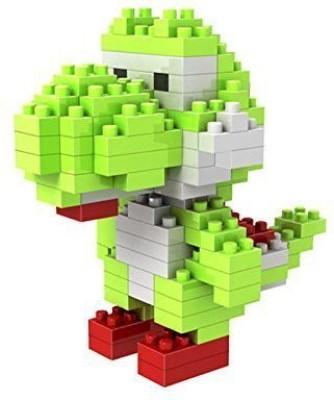 Attoblock New Diamond Micro Super Mario Cartoon,Yoshi,