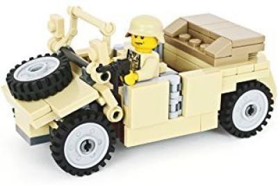 BrickArms Kubelwagen Tan Deutsches Afrika Korps Edition Building Kit