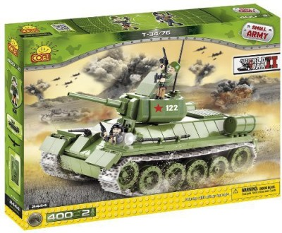 Small Army 2444/ T34 400 Building Bricks Cobi