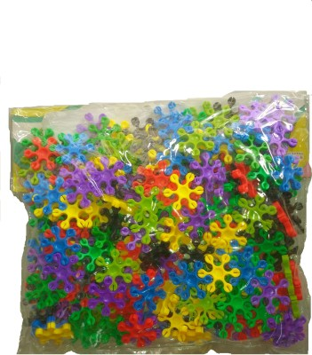 VRT Flower Shapes 3D Puzzle Blocks(Multicolor)