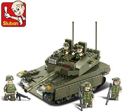 Sluban Building Military Merkava Tanksb0305 343 Pieces