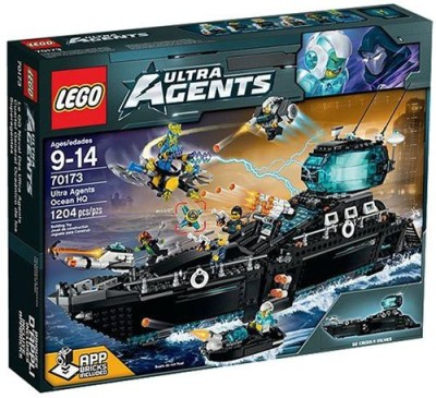 Lego Ultra Agents Ocean Hq
