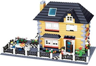Wange Buildingvilla Series 909Pcs 34051