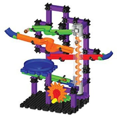 The Learning Journey Techno Gears Marble Mania Zoomerang Building Kit (100-Piece), Multi