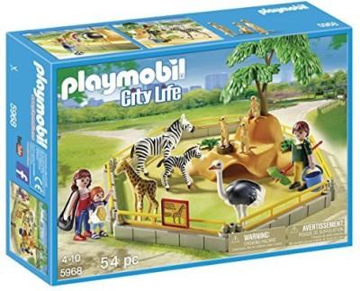 Playmobil 5968 Wild Animal Enclosure Playset