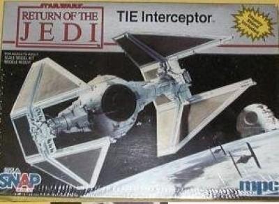 Star Wars Return Of The Jedi Tie Interceptor Model Kit