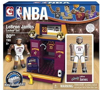 The Bridge Direct NBA Locker Room (Starter) Set: LeBron James