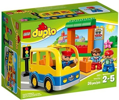 Lego DUPLO Town School Bus 10528 Building Toy