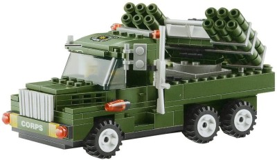 Planet of Toys Military Corps Blocks Set (237 pcs)