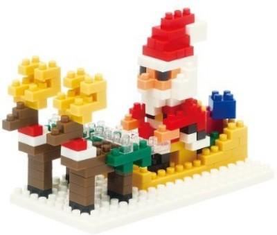 Kawada Nano Santa Claus And Reindeer 2013 Nbc098