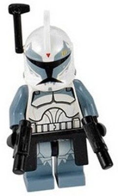 Lego Star Wars Commander Wolffe Minifig From Set 7964
