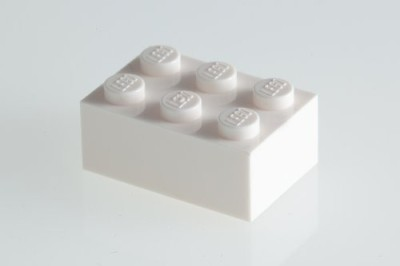 Factory Fresh Bulk Bricks 200X Lego White 2X3 Bricks Super Pack