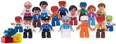 LP Toy Communityset Lego Duplo Compatible(16 Pcs)