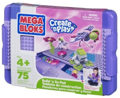Mega Bloks Create ,N Play Build,N Go Pad (Girl)