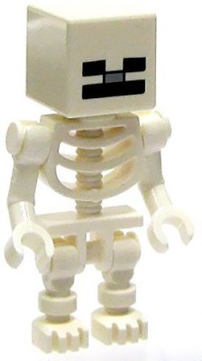 Minecraft LEGO Minifigure Skeleton