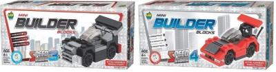 Applefun Set of Mini Builder Blocks Speed Racer 3 & 4