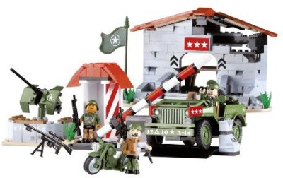 COBI Small Army Willys Military B In Headquarters Construction