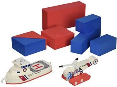 Just Think Toys Baths Bathtime Consruction Building (Coast Guard Boat