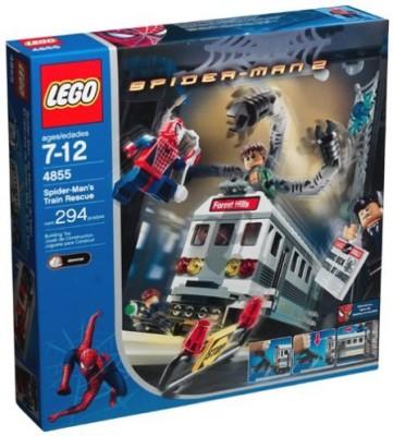 Unknown Lego Spiderman 2 Spiderman,S Train Rescue