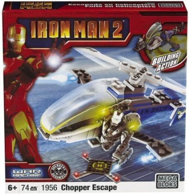 Mega Bloks Ironman 2 Vehicle/Fig Warmachine