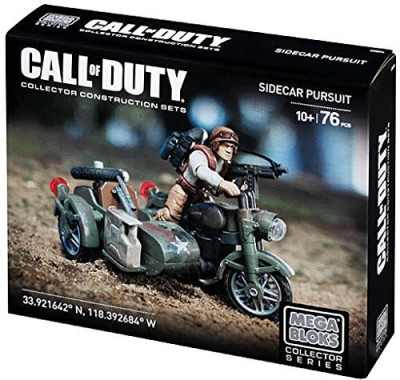 Call of Duty Mega Bloks Sidecar Pursuit Set 38163