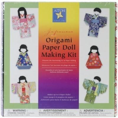 Aitoh KM-KIT/8 Kimono Doll Kit-(Multicolor)