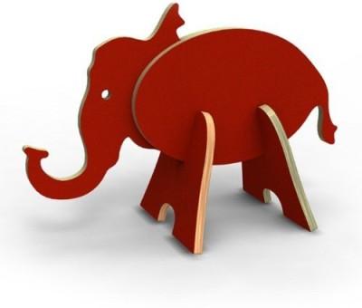 Topozoo Election Editionrepublican Elephant 3D Wood Puzzlered