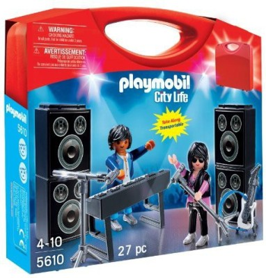 PLAYMOBIL Carrying Case Band Playset