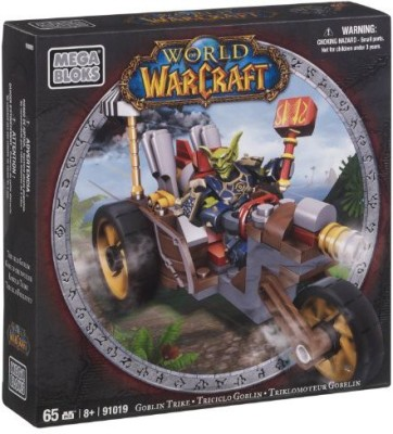 Mega Bloks World Of Warcraft Goblin Trike And Pitz (Horde Goblin