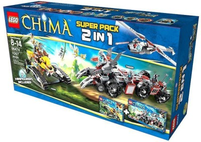Lego Lego Chima Combo Pack 2 In 1