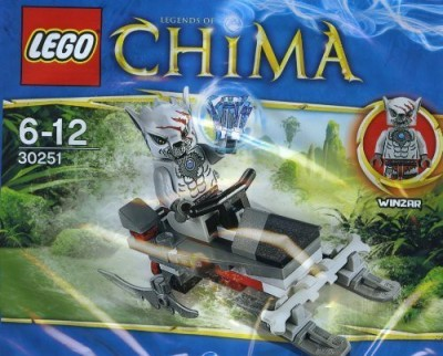 Lego Legends Of Chima Winzars Pack Patrol 30251 Bagged