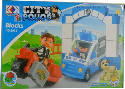 Mera Toy Shop City Police 26 pcs