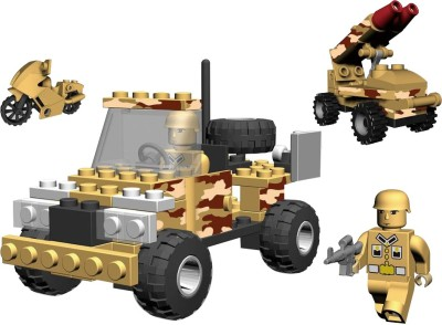 Best Lock 111 Piece Military Squad Block Set