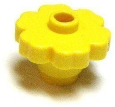 Lego Building Accessories Bright Yellow Flowerbulk 25 Pieces