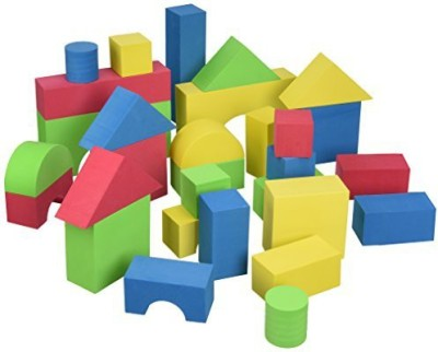 Edushape Educolor Building Blocks, Set of 30