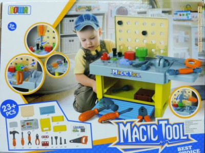 Happy Kidz Building Magic Tool(Multicolor)