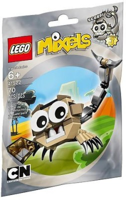Lego Mixels 41522 Scorpi Building Kit