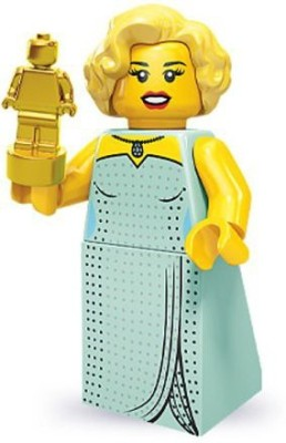 Lego 71000 Series 9 Mini Hollywood Starlet