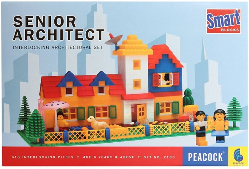 Peacock Smart Block Senior Architect(Multicolor)