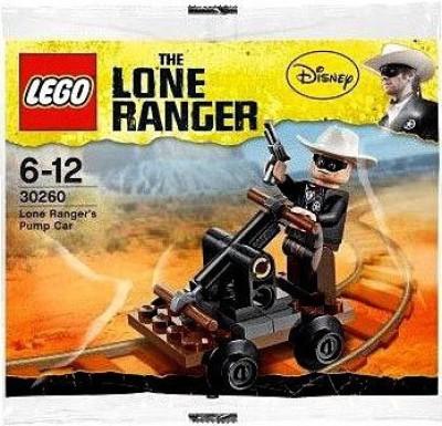 Lego The Lone Ranger Lego 30260 Lone Ranger Pump Car
