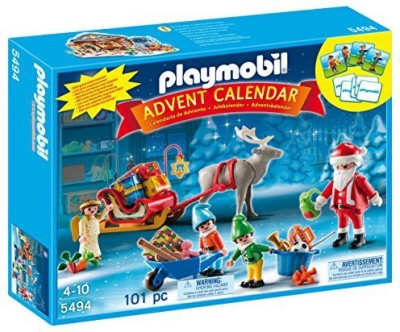PLAYMOBIL Santa,S Workshop Advent Calendar
