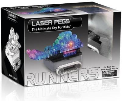 Laser Pegs Runners Tank Building Kit