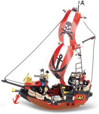 Sluban Sluban LegoLarge Pirate ShipM38-B0127